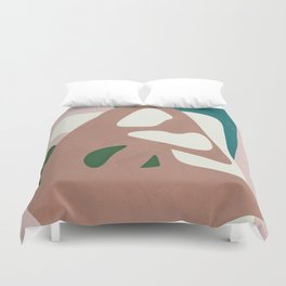 Abstract Minimal Shapes Duvet Cover