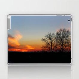 Sunset tree Laptop & iPad Skin