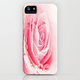 Rose and Tears iPhone Case
