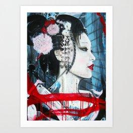Geisha // Artist of the Floating World // Asian Art // Geisha Girl Art Print