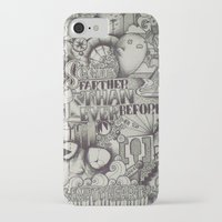 uncharted iPhone & iPod Cases featuring Uncharted Actuality by Lamb