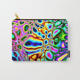 Spectral Abstract Carry-All Pouch