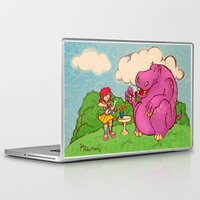 hippo Laptop & iPad Skins featuring Hippo by Rafael Paschoal