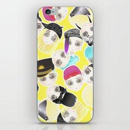 BIGBANG Collage (Yellow) iPhone Skin