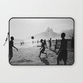 Beach Soccer at Ipanema Laptop Sleeve