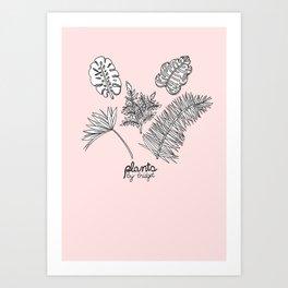 Plants by Bridget Art Print