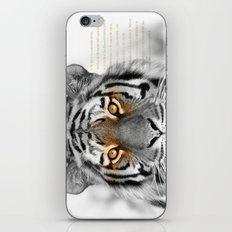 Tiger MISSING iPhone & iPod Skin
