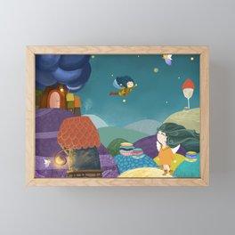Fairy forest. Fairy. Fantasy. Framed Mini Art Print