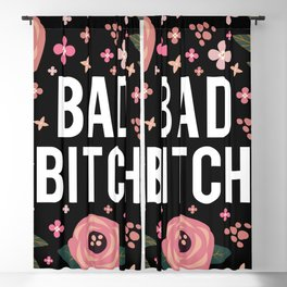 Bad Bitch, Funny Saying Blackout Curtain