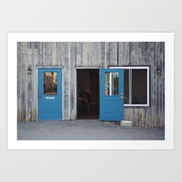 Private Laundry. Art Print