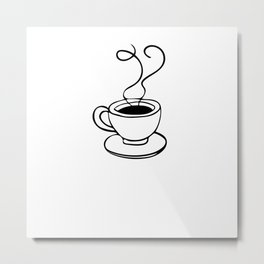 Coffee Expresso Lover Barista Gift Metal Print