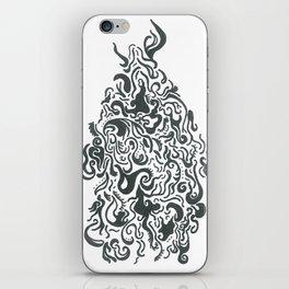 Line Monster iPhone Skin