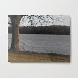 Ohio river. 2012 Metal Print