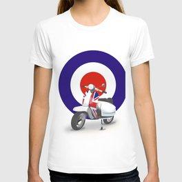 Mod Moped poster T-shirt