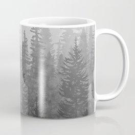 My Misty Secret Forest - black & white Coffee Mug
