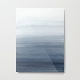 Ocean Watercolor Painting No.2 Metal Print