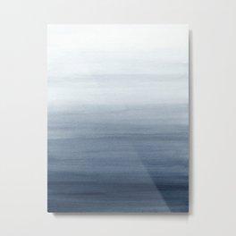 Ocean Watercolor Painting No.2 Metal Print