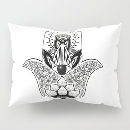 """""""The Hand of Fatima"""",""""Hand of Miriam"""" with Eye of Horus, an ancient strong Symbol for Protection and Pillow Sham"""