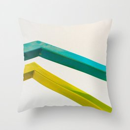 Bend Throw Pillow