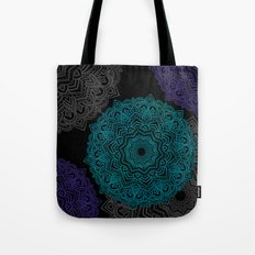 My Spirit Mandhala | Secret Geometry Tote Bag