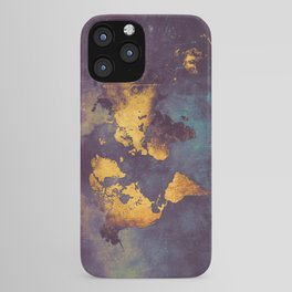 world map 2 2020 #map #travel iPhone Case