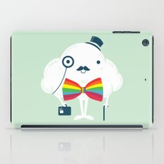 Rainbow-tie gentleman iPad Case