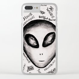 Ufology 101 Clear iPhone Case
