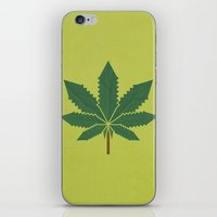 weed iPhone & iPod Skins featuring weed by rubenmontero