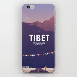Alone In Nature - The Tibetan Way iPhone Skin