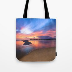 Paradise Sunset 8 Tote Bag