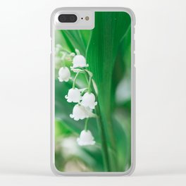 Spring Days Clear iPhone Case