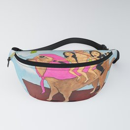 Riding Durte: Living On The Edge Fanny Pack