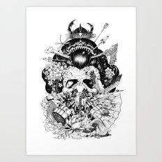 Legendary Art Print