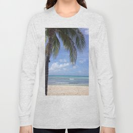 Caribbean Blues Long Sleeve T-shirt