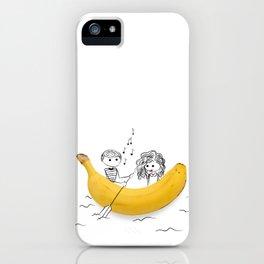 Banana Love iPhone Case