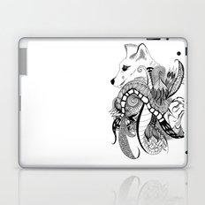 Inking Fox and Bird Laptop & iPad Skin