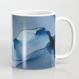 cloudy day fluid ink abstract painting Coffee Mug