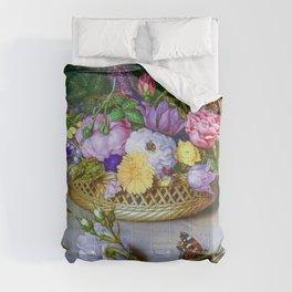 Ambrosius Bosschaert the Elder Dutch Flower Still Life 1614 Comforters