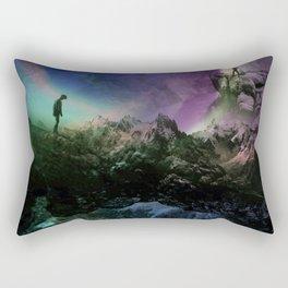 Keep your distance Rectangular Pillow