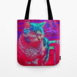 Zen Kitty Tote Bag
