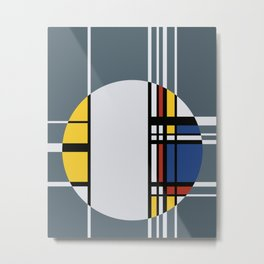 Abstract Composition 429 Metal Print