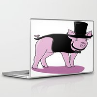 lincoln Laptop & iPad Skins featuring AbraHAM Lincoln by Michael Cotton