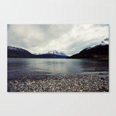 Tutshi Lake Canvas Print