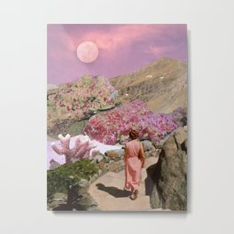 Path to pink moon Metal Print