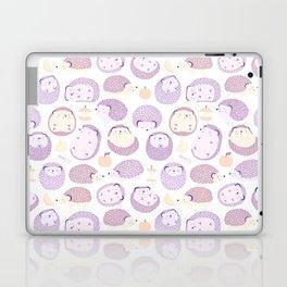 Happy Hedgies - Kawaii Hedgehog Doodle Laptop & iPad Skin