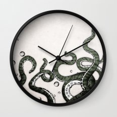Octopus Tentacles Wall Clock