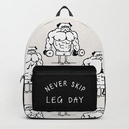 Never Skip Leg Day Backpack