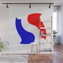 Flag of France 17- France, Français,française, French,romantic,love,gastronomy Wall Mural