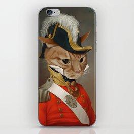 Sir Comet Thelonious, esq iPhone Skin