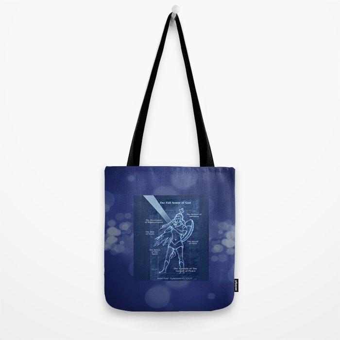 Full Armor of God - Warrior Girl 2 Tote Bag